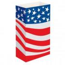 Americana Flag Luminaria Bags (Set of 12)