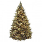 8 ft. Carolina Pine Artificial Christmas Tree with Clear Lights