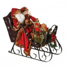 29 in. Sleigh with Deluxe Santa and Mrs. Claus