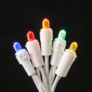 200-Light LED Multi-Colors Dome Icicle Light Set