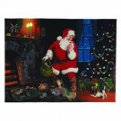 12 in. x 16 in. Santa's Secret Illuminart