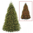 10 ft. Dunhill Fir Artificial Christmas Tree with Dual Color LED Lights