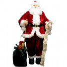 6 ft. Deluxe Traditional Life Size Santa