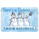 New Wave Holiday 1 ft. 6 in x 2 ft. 3 in. Neoprene Snow Business Mat