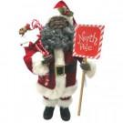 15 in. African American North Pole Santa