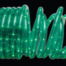 18 ft. 50-Light Green Rope Light