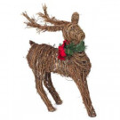 17 in. Natural Vine Deer