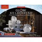 8 in. - 12 in. Globe Ice Lantern Ultimate Kit with Candles