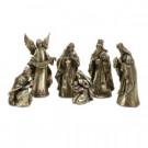 Lenor 18.25 in. Silver Glory Nativity