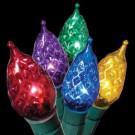 String-A-Long 70-Light Multi-Color C5 Sparkling Crystal Light Set
